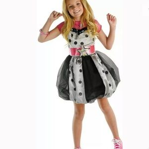 🆕 Disney HANNAH MONTANA Child Costume S (4-6) Dot